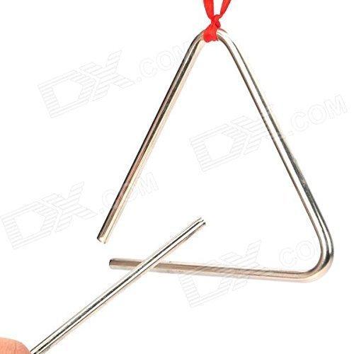 QUATRO percussion métal Triangle instrument et batteur - 8 inch