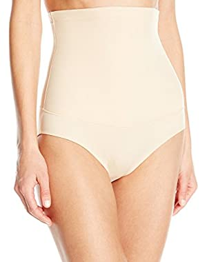 Firm Control Hi-Waist Brief, Latte Lift, 2XL