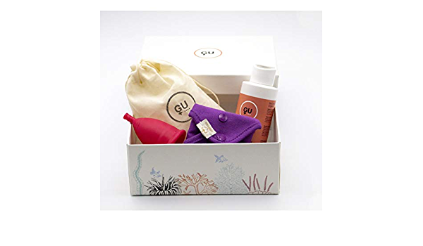 GU Woman - Pack de Copa Menstrual Talla S y ProtegeSlip ...