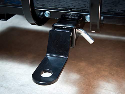 Golf CART Trailer Hitch, FITS ON Backseat FOOTREST- Club CAR, EZGO, Yamaha
