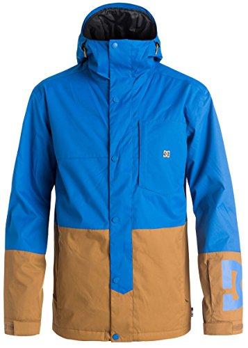 DC Men's Defy 10k Water Proof Insulated Snow Jacket, Nautical Blue, Medium