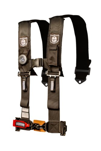 (Pro Armor Black 5-Point Harness with 3
