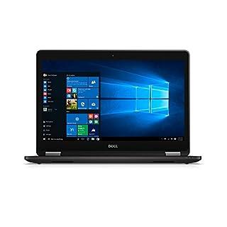 Dell Latitude 7000 E7470 14-inch UltraBook HDF, Intel i5-6300U, 8GB DDR4, 180GB SSD, Backlit Keyboard, Windows 10 Pro (Certified Refurbished)
