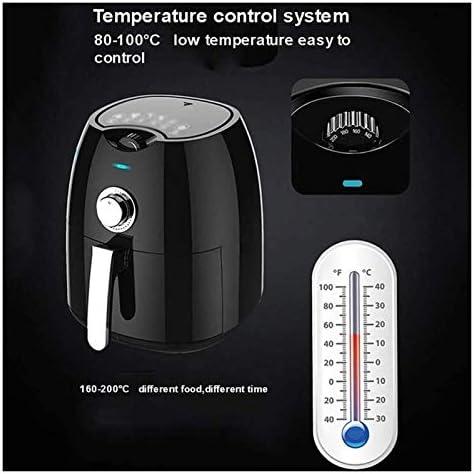XIAOGING Grote capaciteit Air Fryer, automatische uitschakeling met anti-aanbaklaag, Afneembare Non-stick lade en Shed, verwijderbare of wasbaar, gemakkelijk schoon te maken