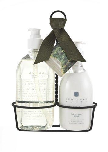 Provence Sante PS Kitchen Caddy Liquid Soap & Lotion- Linden,27.1 total Ounces