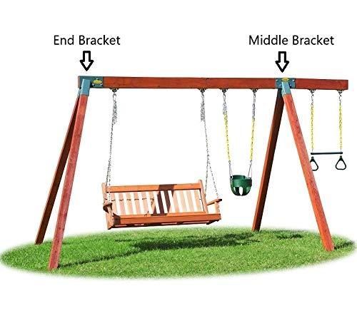 Eastern Jungle Gym Easy 1 2 3 90 A Frame Swing Set Bracket Heavy