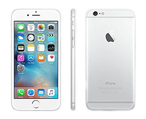 Apple iPhone 6s Plus Factory Unlocked Smartphone, 16 GB, Silver (Certified Refurbished) (Silver) (Iphone 5 C White Unlocked)