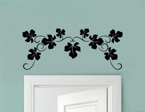 - Enchantingly Elegant SM3688A Leaves Vine Border Vinyl Wall Sticker Decal Art Kitchen Living Room Décor Scroll