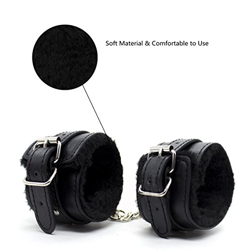 MOJOY Bed Restraints Bondage Kit, Fetish BDSMS Restraints for Sex Play Sex Toys for Couples (Black) by MOJOY (Image #2)