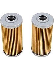 ZTUOAUMA Fuel Filter Element Replacemnt 104500-55710 CH15553 for Yanmar Diesel TS105 TS130 1GM 2GM 3GM 2QM 2YM SB12 YSB8 YSB12 YSM87 YSM12 Motor Engine John Deere 2020 2210 4110 650 670 4100 4200
