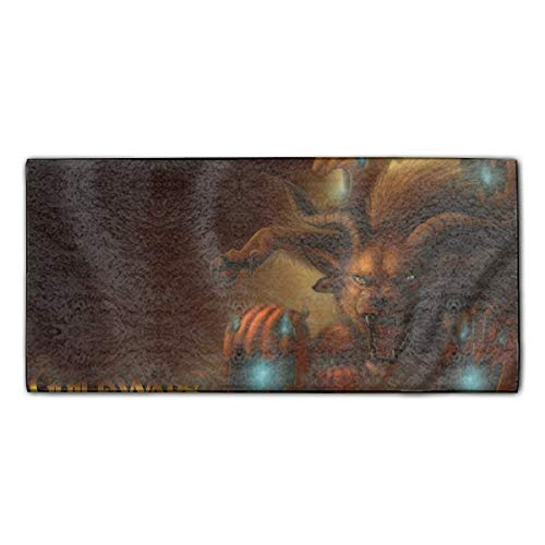 Halloween Guild Wars Super Absorbent Bath Hair Towel Microfiber Hand Towels Custom Fast Drying Washcloth -