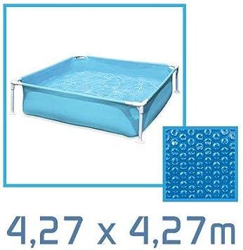 Linxor France /® B/âche /à bulles ronde ovale carr/ée ou rectangle 180 microns pour piscine intex ou autre // 26 tailles disponibles//Norme CE