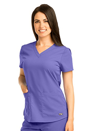 Grey's Anatomy 71166 V-Neck Top Passion Purple S by Barco
