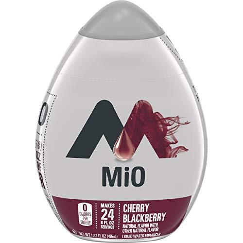MiO Cherry Blackberry Liquid Water Enhancer, Caffeine Free, 1.62 fl oz Bottle