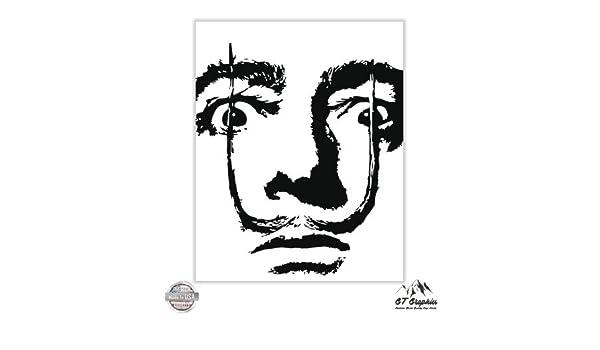 Vinyl Sticker Waterproof Decal GT Graphics Dali
