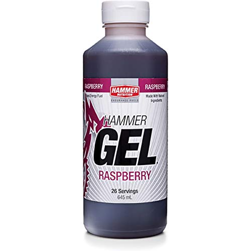 Hammer Nutrition (135128) Complex Carbohydrate Energy Gel, Raspberry, 26 Servings