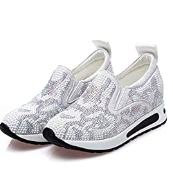 Slip-on Sneaker With Rhinestones