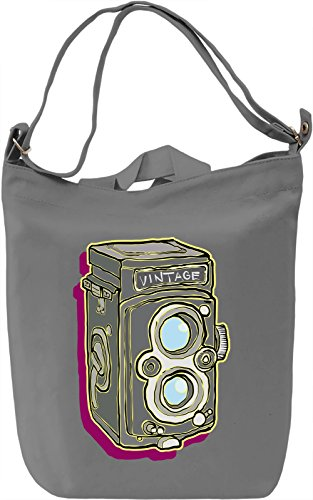 Tlr camera Borsa Giornaliera Canvas Canvas Day Bag| 100% Premium Cotton Canvas| DTG Printing|