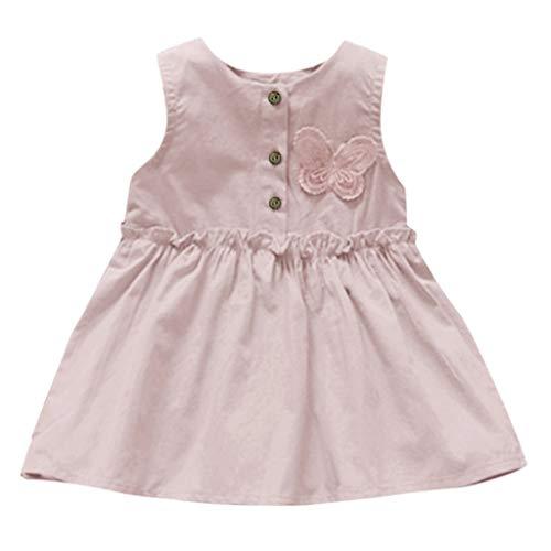 Youmymine Toddler Kids Baby Girls Sleeveless Dress