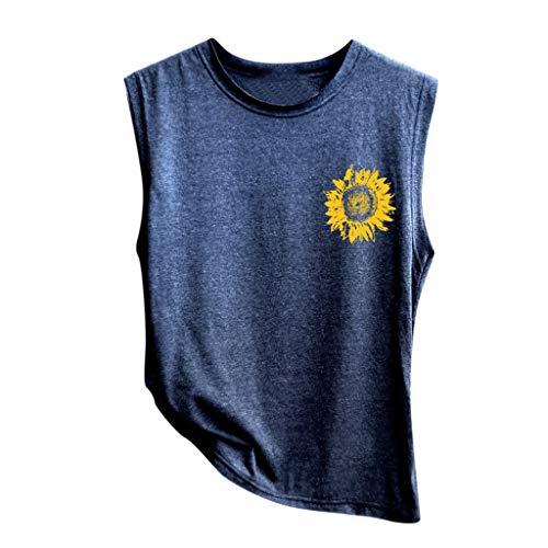MILIMIEYIK Blouse Yoga Tank Tops for Women High Performance Sport Vest Top Built in Shelf Bra Stretchy Mesh Workout ()