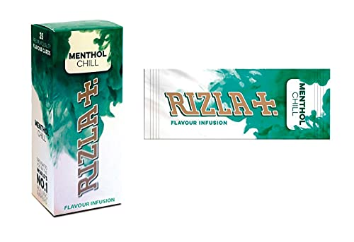 Rizla Aroma Card mentol (25 paquetes)