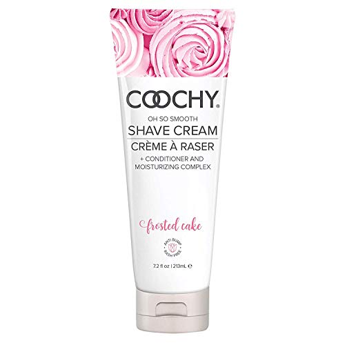 Coochy Extra Smooth Shave Creme FROSTED CAKE Water Based Shave Cream and Moisturizer - Size 8 Oz from Coochy