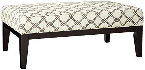 ashley furniture signature design - daystar oversized accent ottoman - contemporary - seafoam