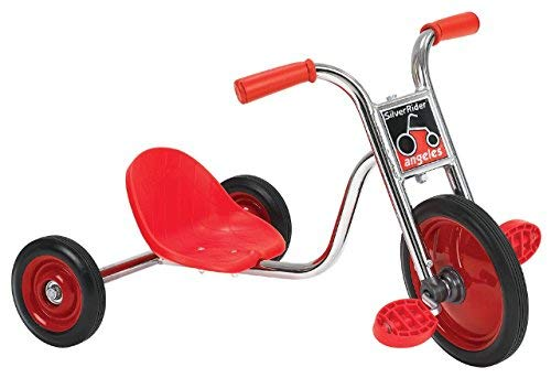Angeles SilverRider 10″ Pedal Pusher LT Bike for Kids Tricycle (31 x 18 x 18 in) ()