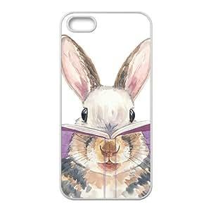 Cute Rabbit Cartoon White iPhone 5s case