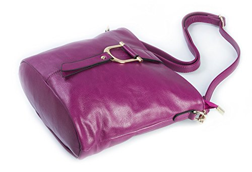 Leather Shoulder Shop Vegan Faux Cross Big Handbag Bucket Bag Baby Pink Womens Style Body XFqwXHxnv