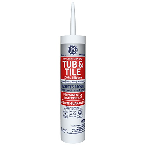 GE Momentive Performance Materials GE712 Kitchen and Bath Sealant 10.1 Ounce White