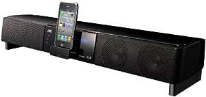 JVC TH-LB3 60W Negro acoplamiento altavoz - Altavoces (60 W, iPhone,iPod, LCD, Negro, 65 cm, 600 x 148 x 75 mm)