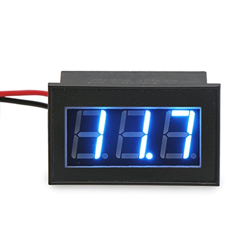DROK 100444 Waterproof Digital Voltmeter DC 4.5-150V Voltage Tester 12V 24V 48V 72V Volt Battery Meter Automotive Electric Cars Gauges Golf by DROK