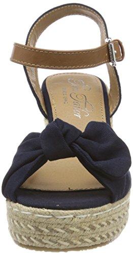 4890708 Cheville Bride Tailor Marine Tom Bleu Femme Sandales O5PRx8wq