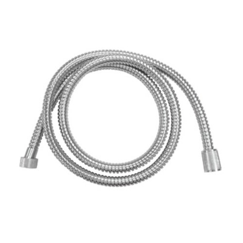Rohl A40/1APC 59-Inch Bossini Metal Bath Hose with 1/2-Inch Conical Nut in Polished (Rohl Nuts)