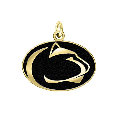 "College Jewelry Penn State University Nittany Lions 14k Yellow Gold Charm (3/8"")"
