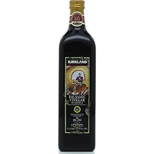 Kirkland Signature Aged Balsamic Vinegar, 1-liter (33.8 Fl Oz.) (1 Bottle)
