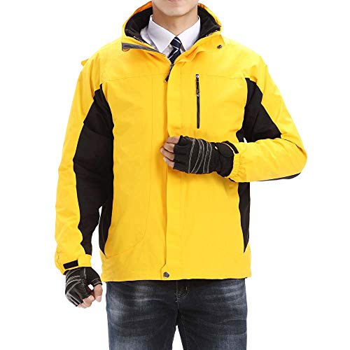 iOPQO Men's Down Jacket, Winter Outdoor Fashion Coat Short Warm Thicken Jacket – DiZiSports Store