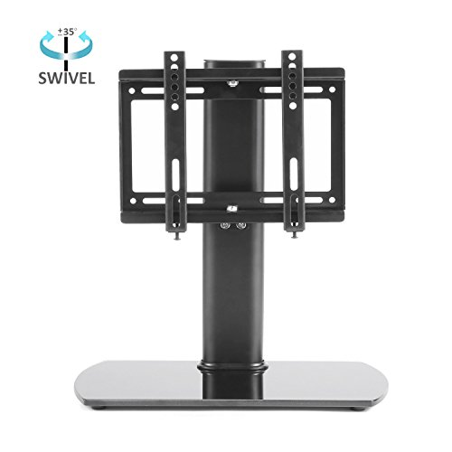 RFIVER Universal TV stand/base tabletop stand with Swivel Mount Bracket Suitable for 26