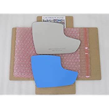 New LOWER CONVEX Replacement Mirror Glass with FULL SIZE ADHESIVE for SPRINTER Passenger Side View Right RH CHECK SIZE
