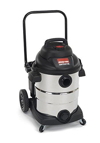 Shop-Vac 9626510 Aspiradora en seco húmedo de acero inoxidable de 6,5 pico HP, 10 galones