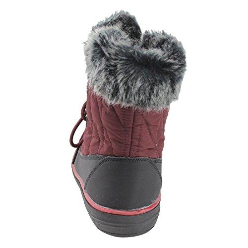 Refresh Fp22 Da Donna Allacciatura Stivaletti Invernali Invernali Con Stivaletti Alla Caviglia