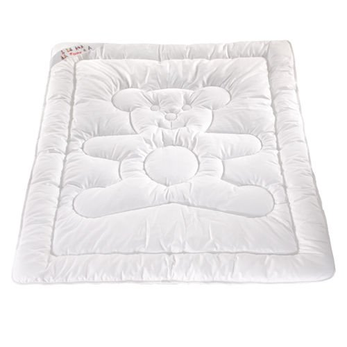 Merino Baby Junior Duvet Quilt 120 x 150 cm + PILLOW 40 x 60cm –COT BED, JUNIOR BED SINGLE functional and hygienic, light, soft, durable, do not cause allergy.