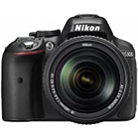 Nikon D5300 24.2 MP CMOS Digital SLR Camera with 18-140mm f/3.5-5.6G ED VR Auto Focus-S DX NIKKOR Zoom Lens - International Version (No Warranty)
