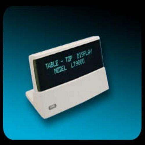 Logic Controls - LT9000-GY - 2x20, 9.5mm, Rs232, Dk Grey, Logic Cmmnd Set, Rj11/db9 I/f