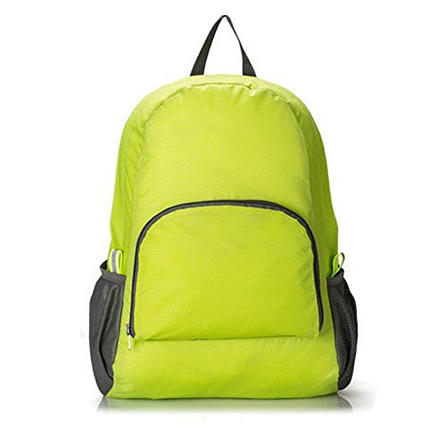 Enhanced Alice Shoulder Straps (Lightweight Water-resistant Packable Durable Travel Backpack Daypack Green )