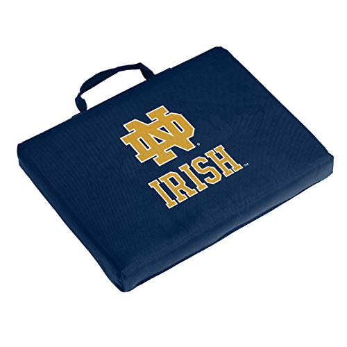 Logo Brands NCAA Notre Dame Fighting Irish Bleacher Cushion, Navy
