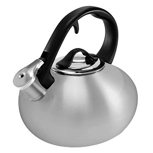 Chantal Stainless Loop 1.8 Quart Teakettle, Brushed Stainless Steel Chantal Stainless Steel Kettle