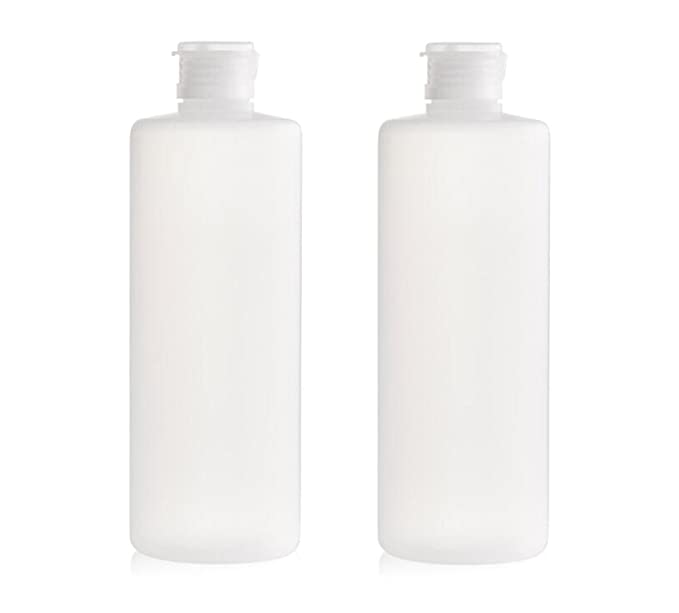 32d678973a04 2PCS 400ml Transparent Empty Travel Refillable PE Plastic Soft Tubes Bottle  Emulsion Packing Case Make up Cosmetics Container For Facial Cleanser ...