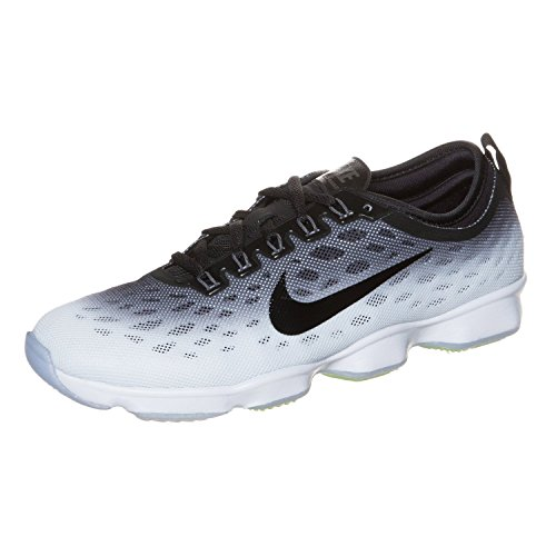 Agility Zoom HO14 Black Grey à White course Black Nike chaussure Fit de pied Dark Women's qEFzFd